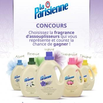 parisienne 350x350 - Concours La Parisienne: Gagnez un des 5 prix et un bouquet de fleurs!