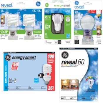 reveal 350x350 - Coupon rabais de 1,50 $ sur toute produit GE Reveal