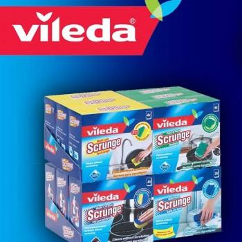 vileda 350x350 - Concours Vileda: Gagnez un ensemble Scrunges Vileda!