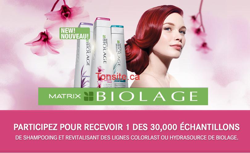 594524 2808c1924abf8bcad279cc36f73c91c4 - Demandez maintenant votre échantillon gratuitement de shampoing et revitalisant de Biolage!