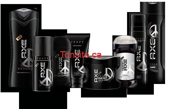 axe produits - Coupon rabais de 1$ sur deux produits AXE!
