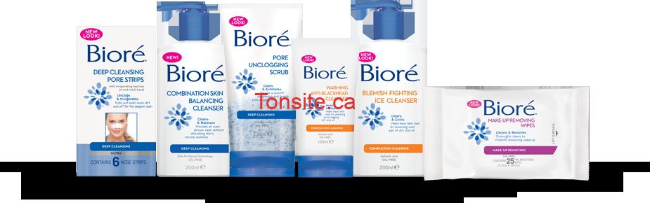 biore - Coupon rabais de 2$ sur tout produit Bioré!