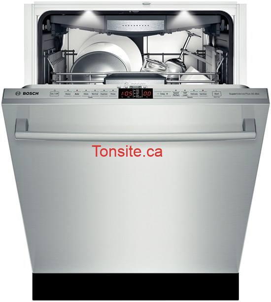 bosh lave vaisselle - Concours: Gagnez une lave-vaisselle Bosh de la serie 800 plus (valeur de 3450$)!