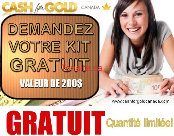 cashforgold - GRATUIT: Demandez gratuitement un kit Cash for Gold!