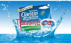 claritin - Complétez un court sondage et recevez un format d'essai Claritin par la poste!