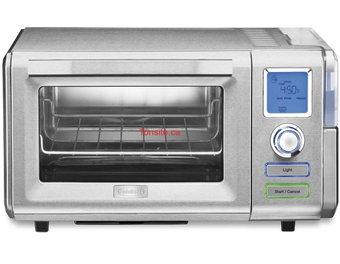 cuisinart 2 - Concours Cuisinart: Gagnez nouveau four combiné vapeur + convection de Cuisinart (valeur de 299,99$)!