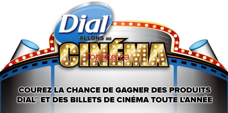 dial cineplex - Concours Dial & Cineplex: Gagnez des billets de cinéma et des produits Dial toute l'année!
