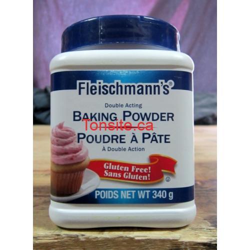 fleishmanns - Coupon rabais de 50¢ sur un contenant de poudre à pâte Fleischmann's de 340g