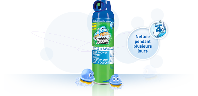 full mega shower foamer - Achetez un et obtenez un gratuit Pulvérisateur ou aérosol Scrubbing Bubble!