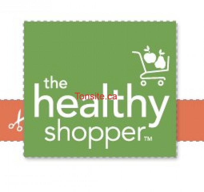 healty shopper - 31 nouveaux coupons rabais The Healty Shopper valides au Québec!