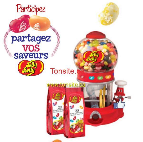 jelly belly - Concours Jelly Belly: Plus de 175,000 friandises à la gelée et des machines à friandises à la gelée à gagner!