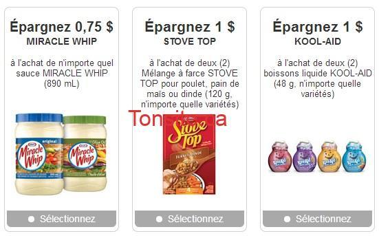 kraft coupons - Nouveaux coupons rabais cachés Kraft!