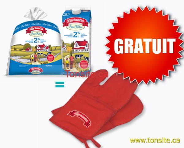 lactantia - Obtenez votre mitaine pour le four Lactantia Gratuite!