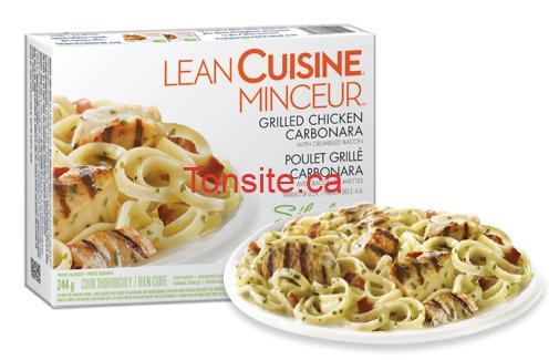 lean cuisine minceur - repas surgelés Lean Cuisine Minceur à 77¢ (après coupon)