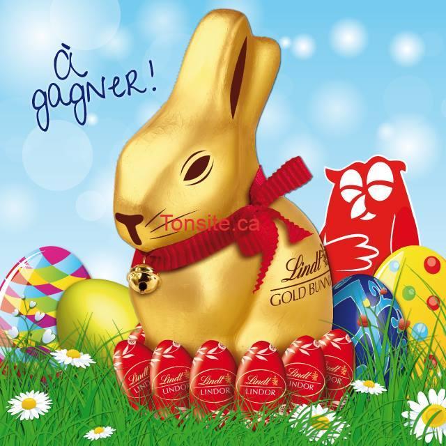 lindt couchetard - Concours Couche-Tard: Gagnez un des 2 géants lapins or Lindt en chocolat d'un Kilo