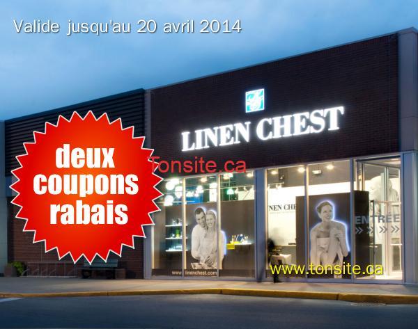 linen chest - Nouveaux coupons rabais Linen Chest!