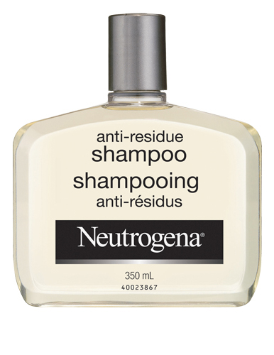 neutrogena anti residue shampoo - Shampoing Neutrogena (350ml) à 1,99$ après coupon!