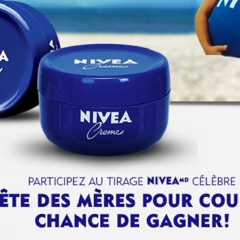 nivea concours 350x350 - Concours Nivea: Gagnez 2 échantillons de la crème Nivea (15.000 échantillons à gagner)!