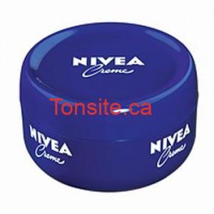 nivea creme 200ml - Pot de crème de 200 ml à 3,98$ après coupon!