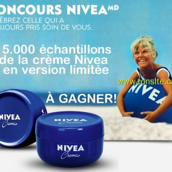 niveaconcours 350x350 - Concours Nivea: Gagnez 1 des 15000 échantillons de la crème Nivea en version limitée!