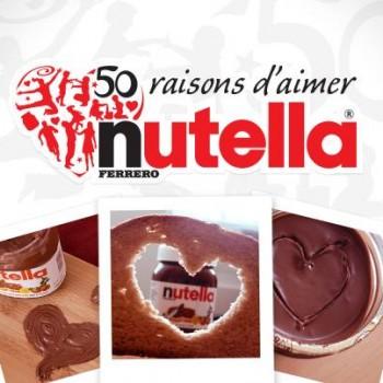 nutella 1 350x350 - Concours Nutella: Participez et gagnez du Nutella!