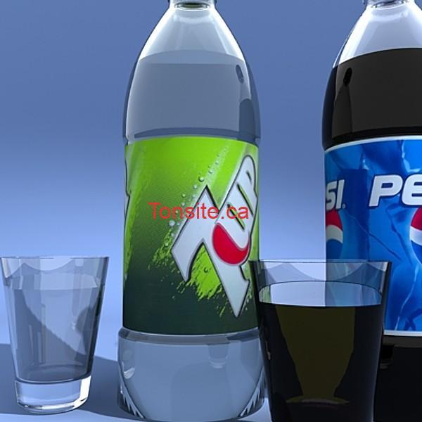 pepsi - Boisson gazeuse Pepsi ou 7up de 1L à 66¢ seulement!
