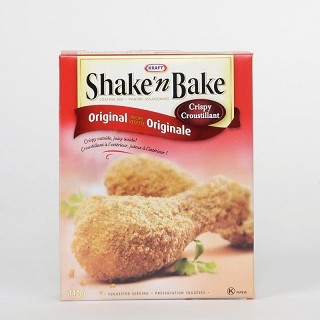 shakenbake - Coupon rabais de 75¢ sur deux emballages de n'importe quelle Shake n' Bake
