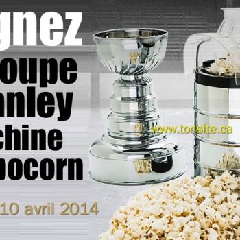stanley popocorn 350x350 - Concours Déco Découverte: Gagnez la Coupe Stanley machine à popcorn!