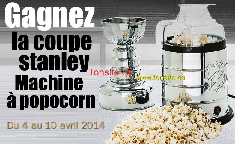stanley popocorn - Concours Déco Découverte: Gagnez la Coupe Stanley machine à popcorn!