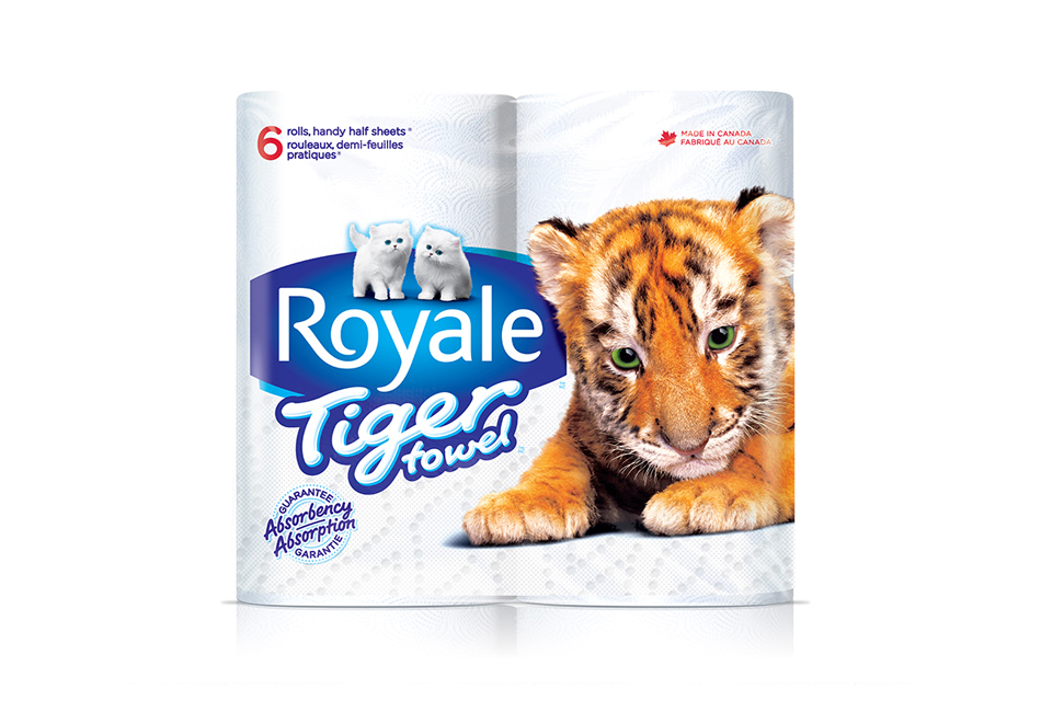 tiger towel