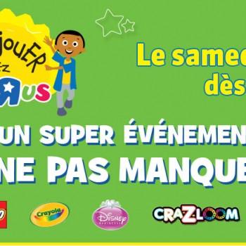 """toys rus 12 avril 350x350 - Activités pour enfants amusantes et gratuites chez Toys""""R""""Us le samedi 12 avril 2014 dès 11h!"""