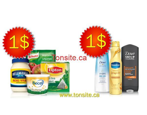 unilever jpg - 2 coupons rabais sur les produits Unilever échangeables chez Walmart!
