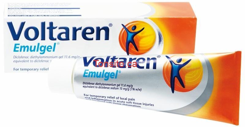 voltaren - Coupon rabais caché de 4$ sur le gel contre les douleurs articulaires Voltaren Emulgel !