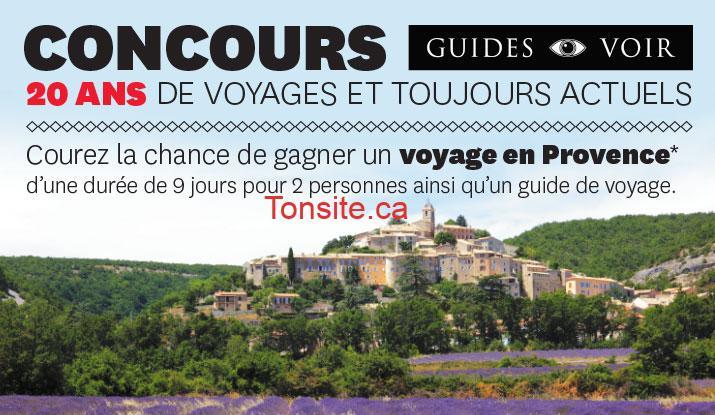 voyage en provence - Concours Archambault: un voyage à destination de la France en Provence d'une durée de 9 jours pour deux (2) personnes (valeur de 4532$)!