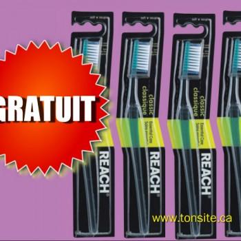 REACH GRATUIT1 1 350x350 - Brosse à dents Reach gratuite après coupon!