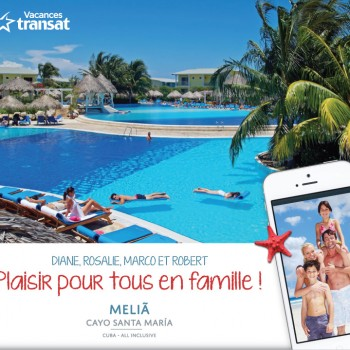 air transat concours 350x350 - Concours Air Transat: Gagnez un voyage familial forfait tout-inclus à Cuba!