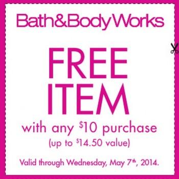 bath2 350x350 - Bath & Body Works: Obtenez un produit gratuit (valeur de 14,50$) sur tout achat de 10$!