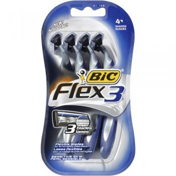 bic flex 3 350x350 - 4 rasoirs Bic Flex 3 à 2,96$ au lieu de 6,68$