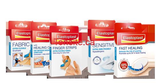 ela - Coupon rabais de 1$ sur un produit Elastoplast en tissu, en tissu robuste ou sensitive!