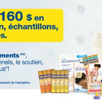 fr MJN EFB signup header 350x350 - Obtenez gratuitement plus de 160$ en bons de réduction, échantillons, et offres spéciales avec Enfamil!