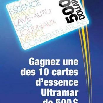 pom concours 3 350x350 - Concours POM: Gagnez une des 10 cartes d'essence Ultramar de 500$!