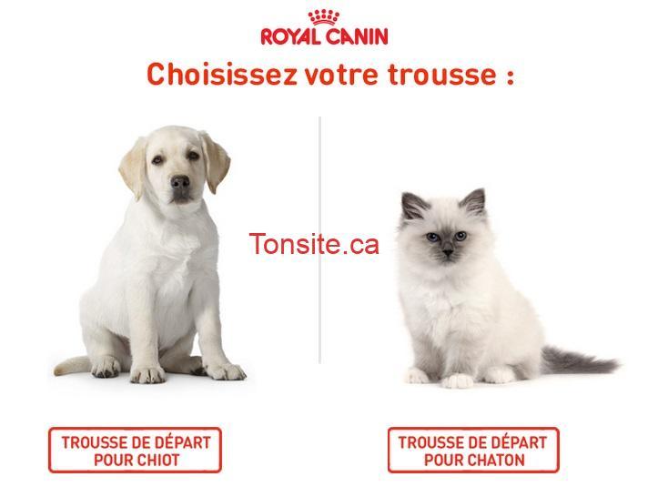 royal canin trousse - GRATUIT: Demandez une trousse de départ gratuite pour chiot ou chaton de Royal Canin!