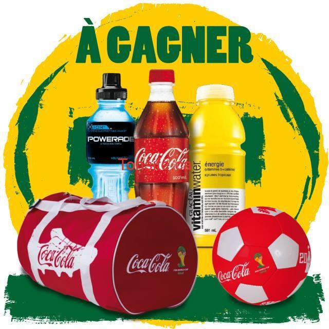 soccer couche tard - Concours Couche Tard: Gagnez un des  5 sacs + 5 ballons de soccer Coca-Cola !