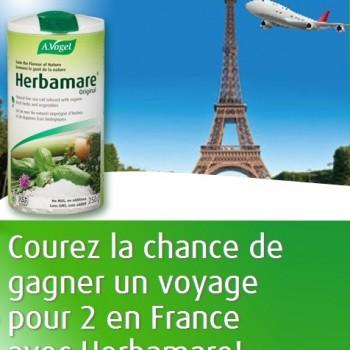 vogel concours 350x350 - Concours Avogel: Gagnez un voyage en france pour 2 personnes (valeur de 6500$)!