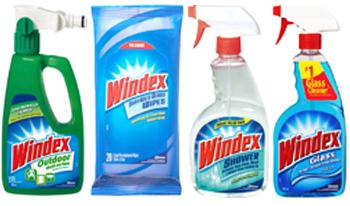 windex group 350x206 - Coupon rabais de 1$ à l'achat de tout produit Windex!