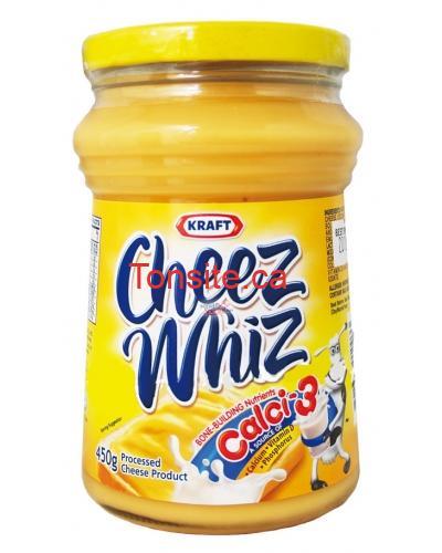 KraftCheezWhizPLAIN450ML 400x500 - Préparation fondu du fromage Kraft Cheez Whiz (450g) à 1,72$ après coupon!