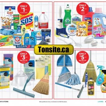 canadiantire 1 2 350x350 - Aubaine de la semaine: Produits ménagers à 1$ et 2$ seulement!