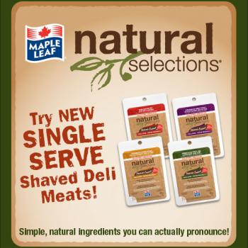 left banner 350x350 - Bacon natural selection de mapleleaf à 1,99$ aprés coupon!