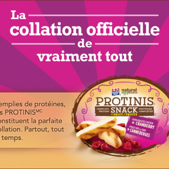protinis 350x350 - Collations Protinis Natural Selection de Maple Leaf à 1,99$ apres coupon!