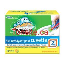 scrubb - Coupon (achetez-en 1 obtenez 1 gratuitement) sur le gel nettoyant Pour cuvette Scrubbing Bubbles